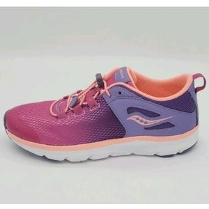 Saucony s-fusion pink girls sneakers size 5